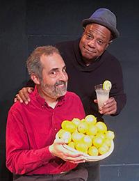 Brian Copeland and Charlie Varon