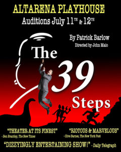 2021 Auditions: The 39 Steps